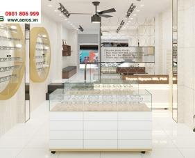 Thiết kế thi công shop mắt kính anh Truyền - Quận 3