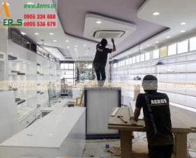 Thiết kế thi công shop mỹ phẩm Nuty Cosmetics - Tân Bình