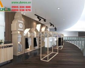 Thiết kế thi công shop thời trang The Cosmo - Quận 1