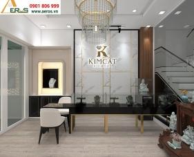 Thiết kế thi công shop trang sức KIMCAT - Bình Chánh