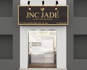 Thiết kế thi công showroom trang sức JNC JADE - Quận 3