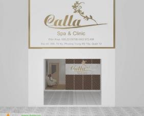 Thiết kế thi công spa Calla - quận 12