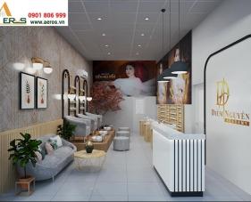 Thiết kế thi công tiệm Nail Diễm Nguyễn - Quận 9