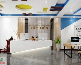 Thiết kế văn phòng làm việc Tây Tiến của anh Ngân - Tây Ninh
