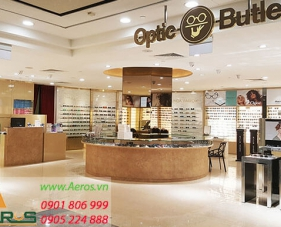 Top 10 mẫu thiết kế cửa hàng mắt kính đẹp nhất 2019
