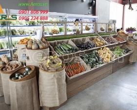 Top 10 mẫu thiết kế cửa hàng nông sản giúp thu hút khách hàng