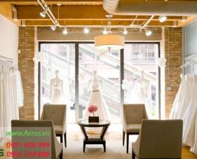 Top 10 mẫu thiết kế showroom áo cưới đẹp nhất 2019