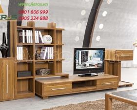 Phòng khách hiện đại hơn với tủ tivi đẹp