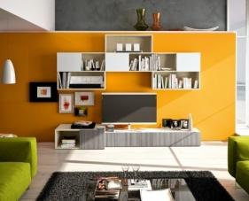 50 Gợi ý mẫu tủ và kệ trang trí phòng khách phù hợp với mọi không gian