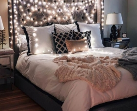35 Ý tưởng trang trí đèn phòng ngủ theo phong cách lãng mạn